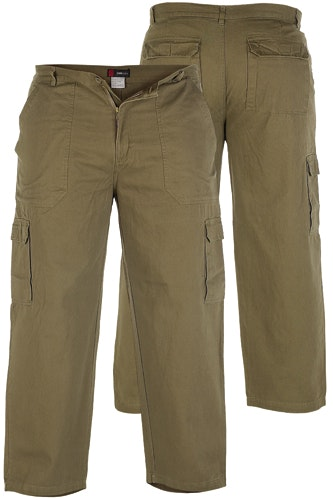 Duke Khaki Cargo Pants