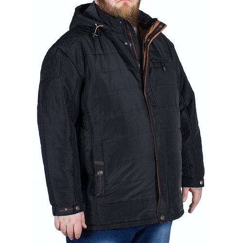 Kam Padded Coat Black
