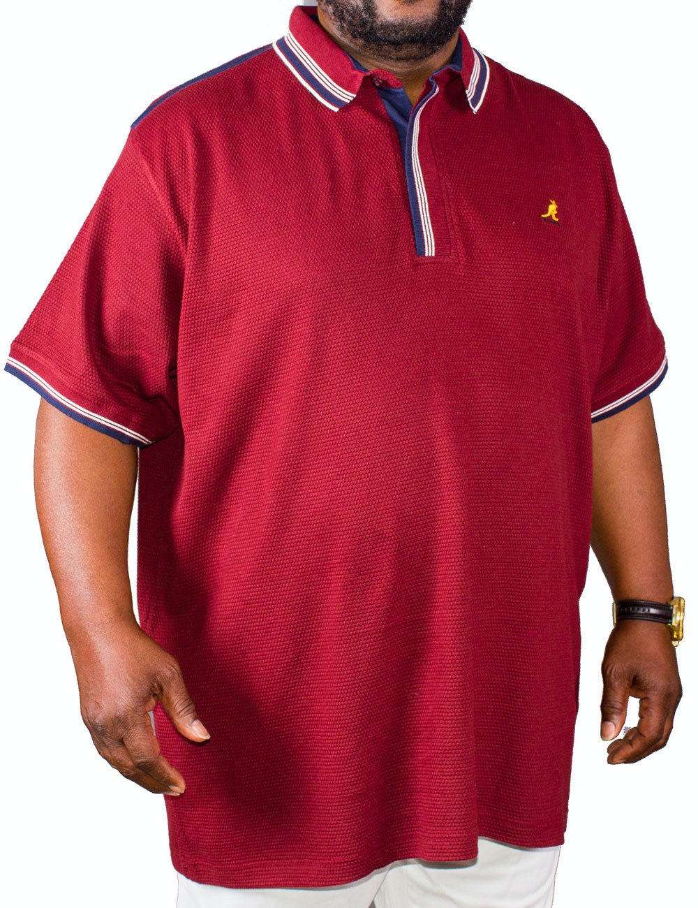 Kangol Jovan Polo Shirt Red