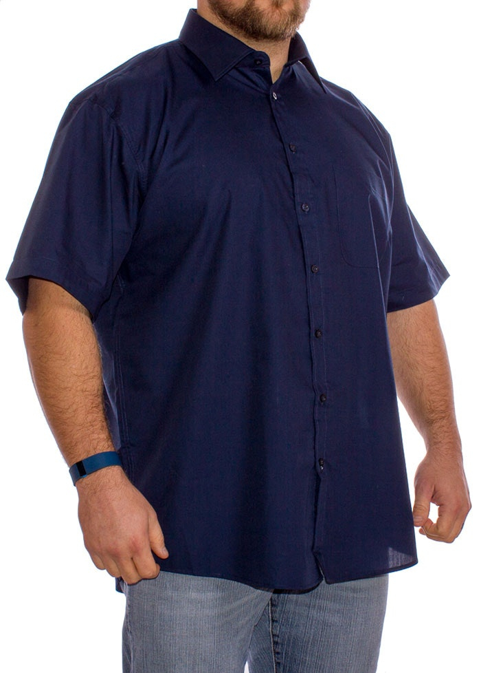 Navy Classic Short Sleeved Shirt