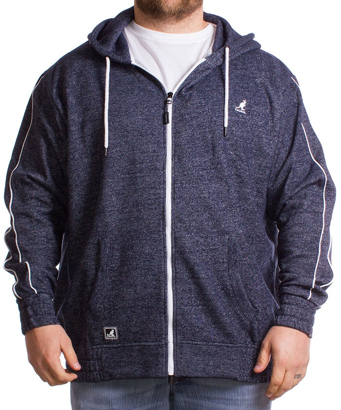 Kangol Full Zip Navy Hoody