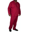 Pyjamas Long Sleeve & Trousers Red