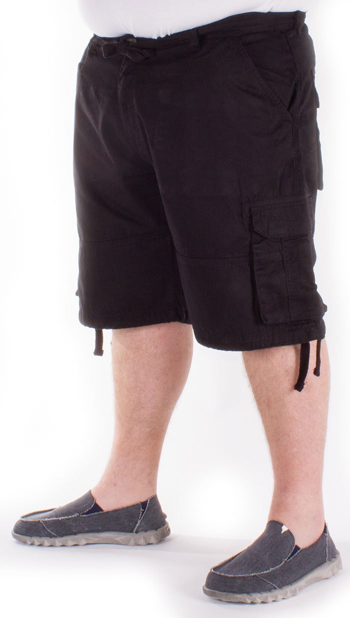 Loyalty & Faith Cargo Short Black